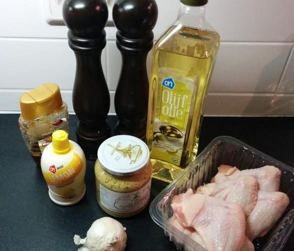 Honing mosterd marinade voor kip