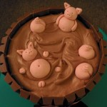Varkens in modder taart 2